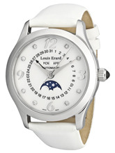 Louis Erard 1931 Moonphase Full Calendar Watch 44 204 AA 10.BDS05